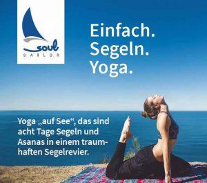 Soul Sailor Segeln mit Yoga und Annabell Ditschke