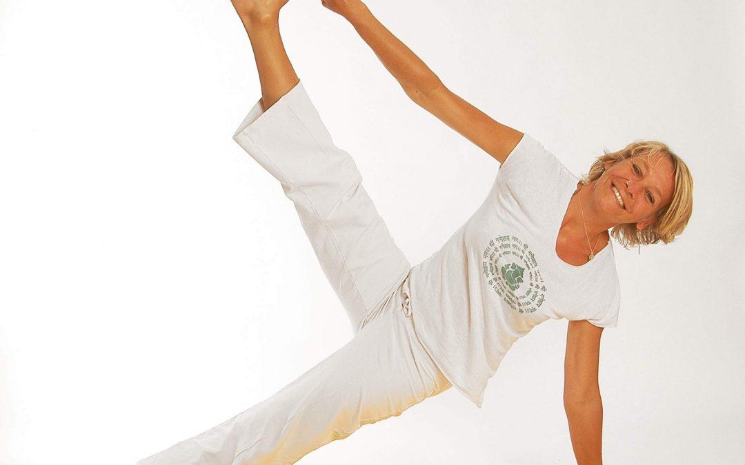 Yoga mit Annabell Ditschke - seitlicher Stütz